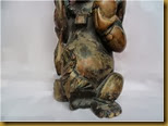 Patung Naca - kaki