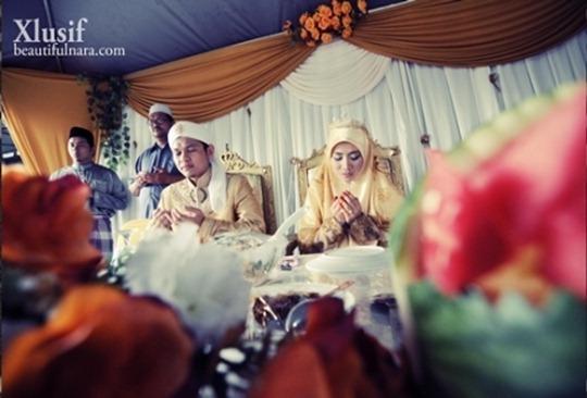 Gambar-Perkahwinan-Imam-Muda-Hassan-Dan-Ulfah-5