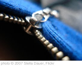 'Zipper' photo (c) 2007, Stella Dauer - license: http://creativecommons.org/licenses/by-sa/2.0/