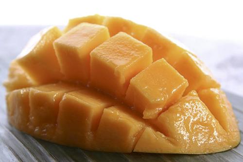 A ripen mango ready to taste