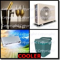 COOLER- 4 Pics 1 Word Answers 3 Letters