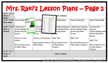 Differentiated multiage lesson plans for grade 2, grade 3, grade 4 and grade 5 (Year 3, year 4, year 5 and Year 6) - find more details at Raki's Rad Resources.