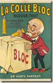 Clemenceau et la colle Bloc