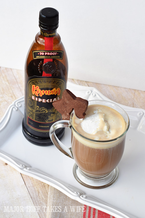 Kahlua Especial added to an amazing hot buttered coffee