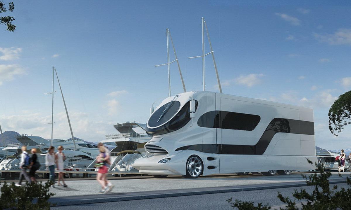 Luxury rv exterior - 3m Rv 1