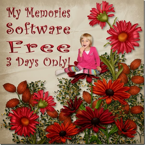 Get My Memories Software for FREE!  3 Days only at Homeschooling Hearts & Minds
