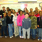 WBFJ Cici's Pizza Pledge-Brightwood Elementary-Ms. Chriscoe's 4th Grade Class-Greensboro-2-8-12