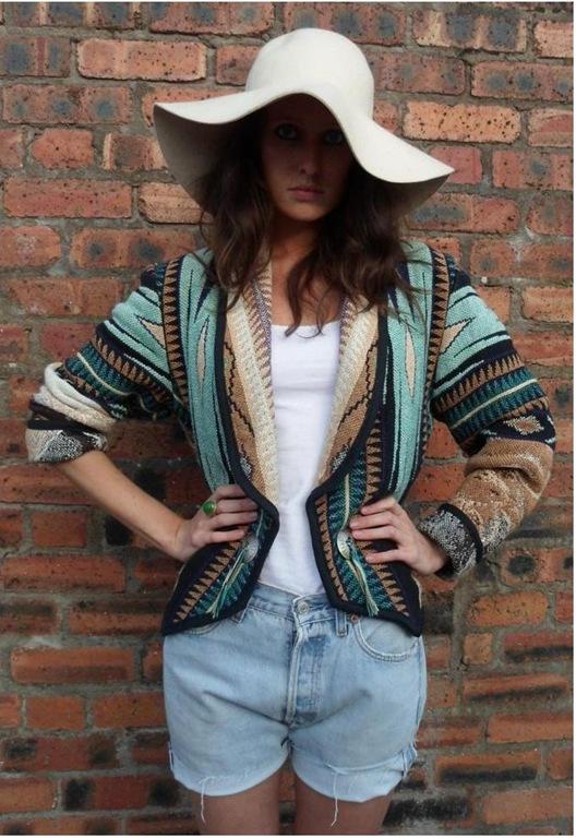 Handmade Navajo Jacket, £55, We Love To Boogie Vintage
