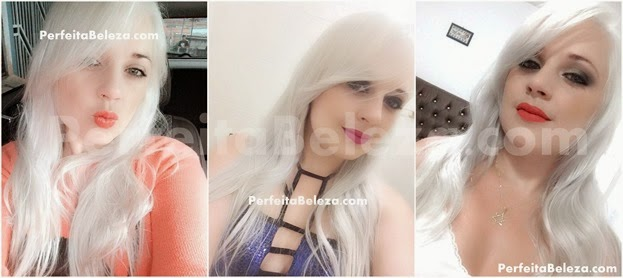 cabelos loiros platinas quase branco, perfeita beleza, tatiane sanches