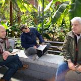 Alberto Díaz (Pelorroto), Marta Chicote y Pablo Jurado