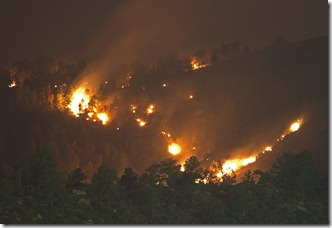 2012-06-11 High Park Fire at Night (2)