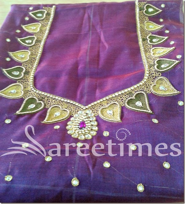 Purple_Embroidery_Blouse_Designs