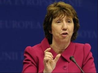 La Haute représentante de l'UE aux Affaires étrangères, Catherine Ashton à Bruxelles, le 15 septembre 2010. AFP/AFP/Archives/John Thys