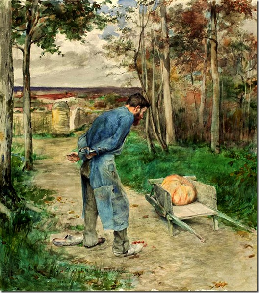 Bastien-Lepage-Jules-The Acorn and the Pumpkin  1881