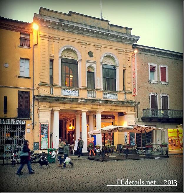 Teatro Nuovo di Ferrara - Theatre Nuovo di Ferrara, Italy