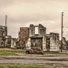 Oradour-sur-Glane by Marcel de Groot - Buildings & Architecture Decaying & Abandoned ( abandoned, building )