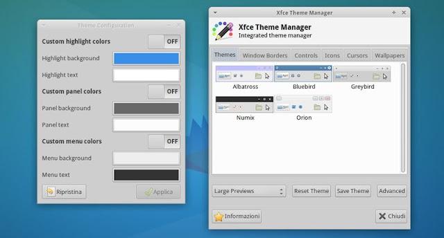 Xubuntu 14.04 - Xfce Theme Manager