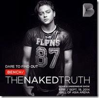 Bench TheNAKEDTruth - Daniel Padilla