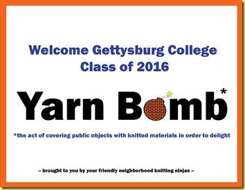 YarnBombSign