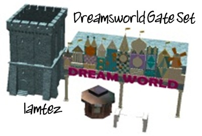 Dreamsworld Gate Set  (Iamtez) lassoares-rct3