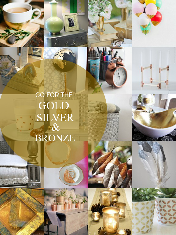 Gold Silver Bronze Round Up via homework | carolynshomework.com