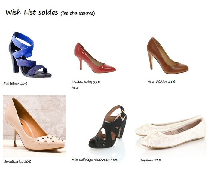WL soldes chaussures