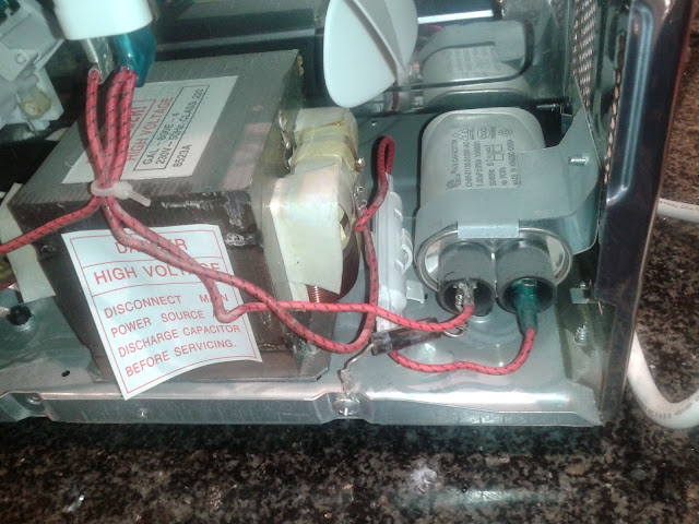 Guide microwave electric general