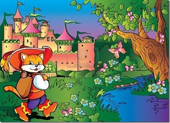 El Gato con Botas,El gato maestro,Cagliuso, Charles Perrault,Master Cat, The Booted Cat,Le Maître Chat, ou Le Chat Botté (124)