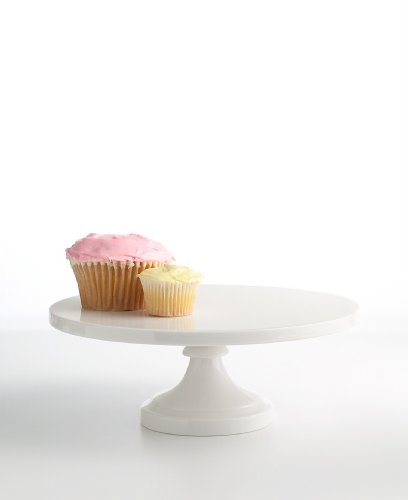 Another cake stand from the Whiteware collection at Macy's. This round design would perfectly feature a pie or cake.