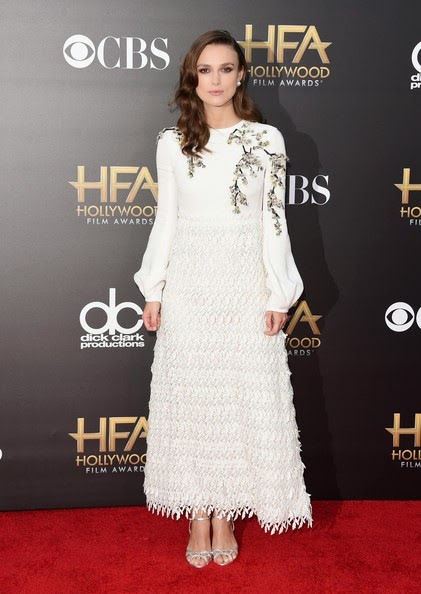 Keira Knightley attends the 18th Annual Hollywood Film Awards