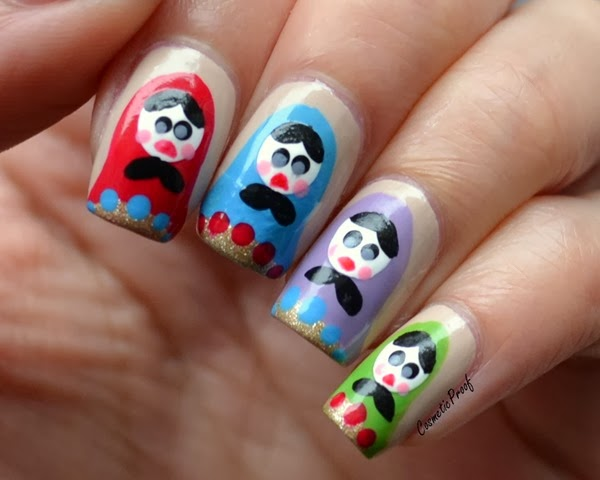 Nail Art Russian Dolls Cosmetic Proof Vancouver Beauty Nail