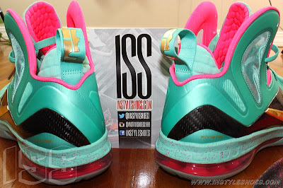nike lebron 9 ps elite statue of liberty pe 3 09 Nike LeBron 9 PS Elite Statue of Liberty PE Has a Twin!