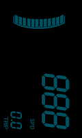 Screenshot of Digital speedometer: Digivel