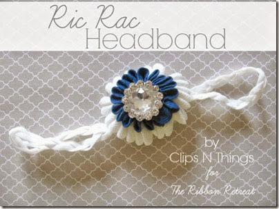 Ric-Rac-Headband