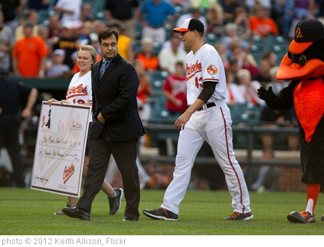 'Jim Johnson, Dan Duquette' photo (c) 2012, Keith Allison - license: http://creativecommons.org/licenses/by-sa/2.0/