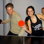 ping pong time in Toronto, Ontario, Canada