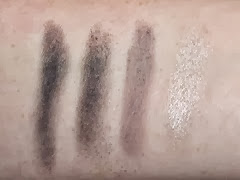 Smoked Cocoa swatches