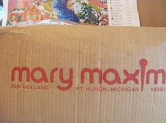 Mary Maxim rug kit box