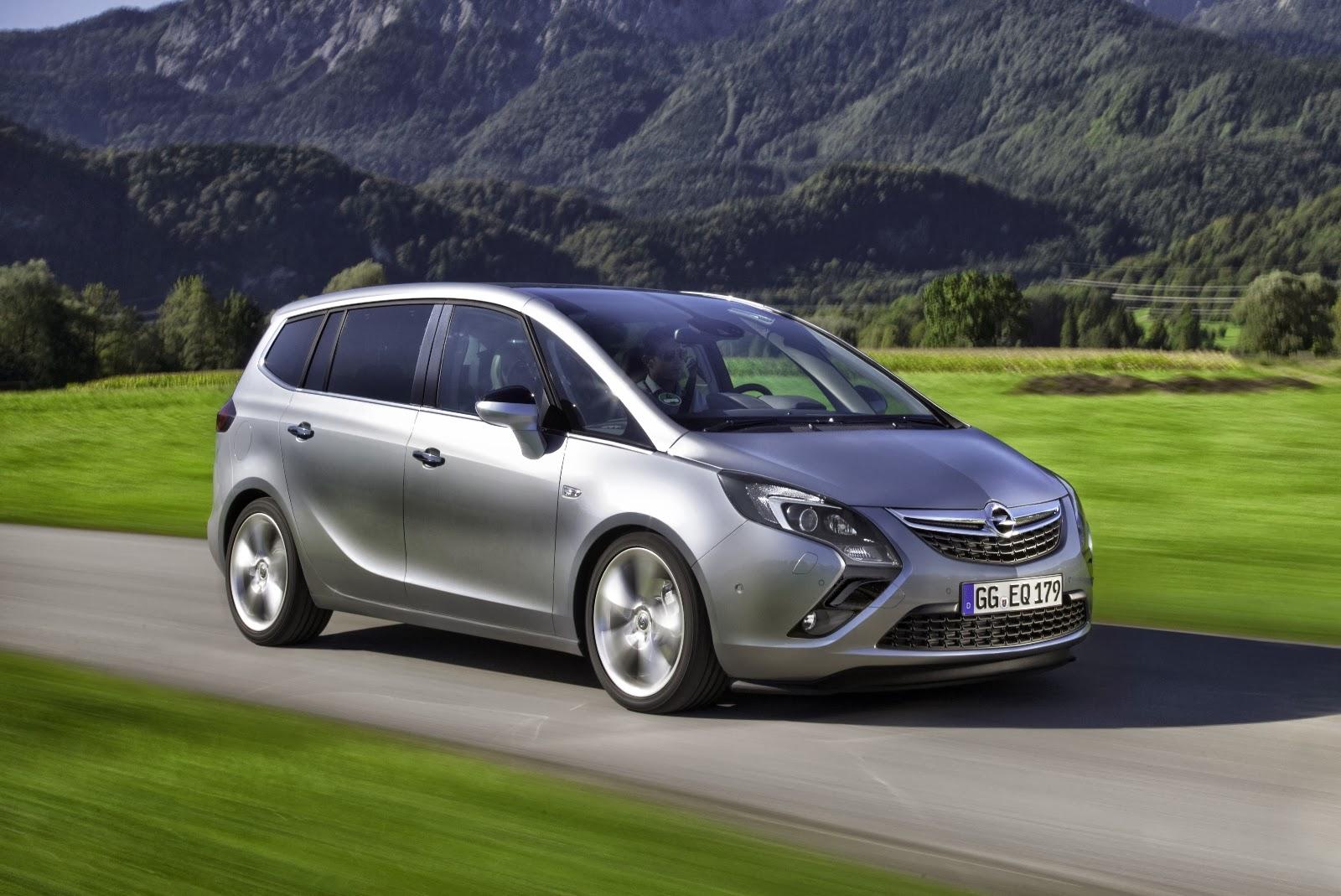 Yeni Opel Zafira Tourer 1.6 SIDI Turbo'nun gücü 147kW ...