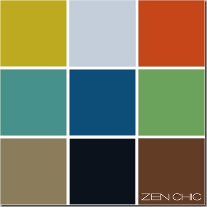 Color choice blau mit Erde und bunt