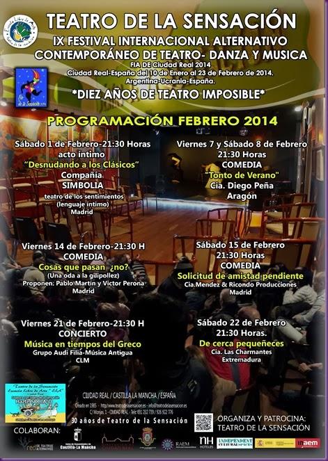 PROGRAMACION FEBRERO 2014 GENERICO
