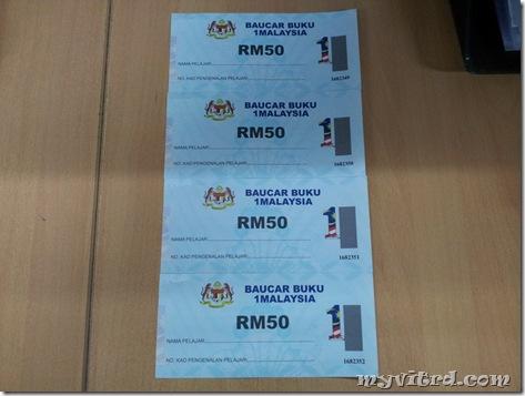 Baucer Buku 1Malaysia
