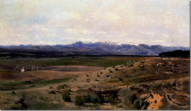 Aureliano de Beruete y Moret-El Guadarrama desde la Moncloa