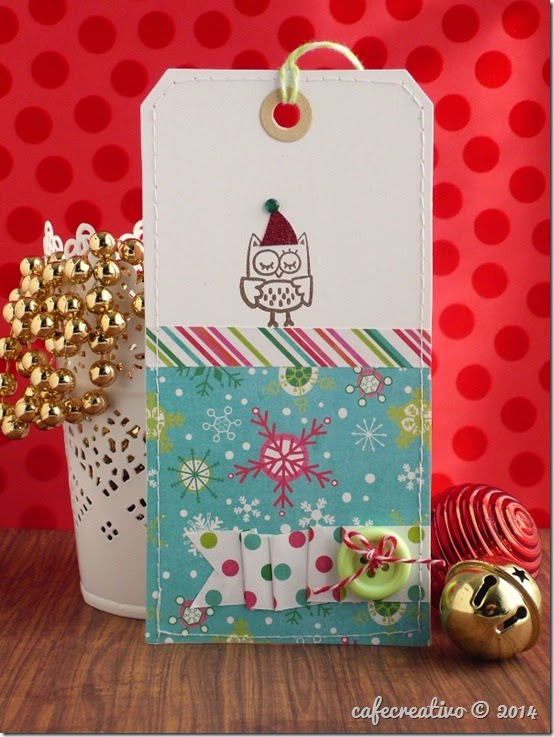 cafecreativo - Christmas owl tag - Natale - gufo (1)