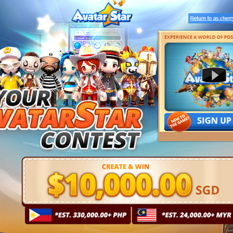 Be Your AvatarStar & win $10,000!