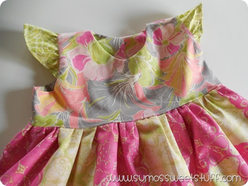 Sumo's Sweet Stuff - Flowy Flutter Dress