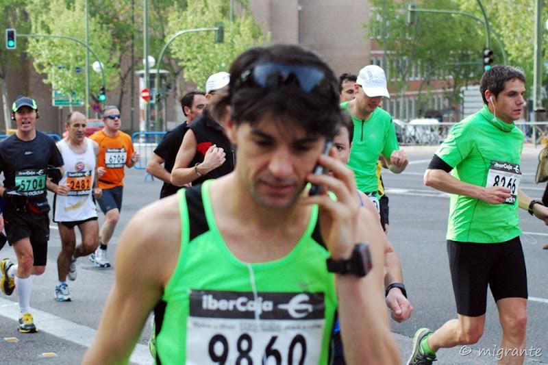 tiempo de hablar - maraton en madrid