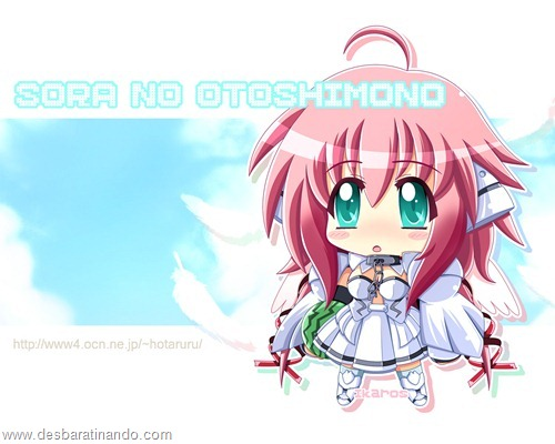 Sora no otoshimono anime wallpapers papeis de parede anime download desbaratinando  (2)