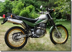 Geezer with a Grudge: My Motorcycles: Kawasaki KL250 Super Sherpa