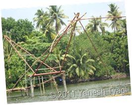 Chinease Fishing Net: @Kumarakom (Yanesh tyagi)